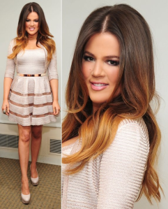 Ombre hair extensions are using ombre hair technique. Ombre hair born in France and as turned to be the most popular service.