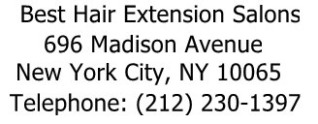 Best Hair Extension Salons in New York